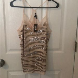 Express cami top with sequins